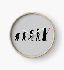 Evolution of the dark side Clock