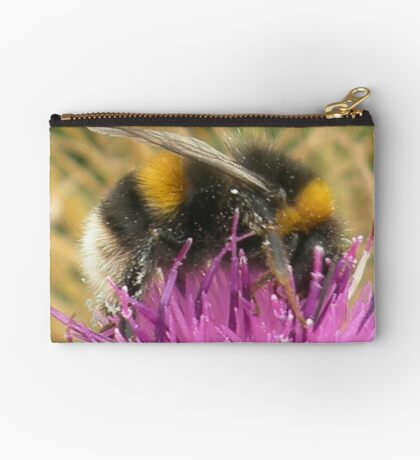 A Scottish Bumble Bee Studio Pouch