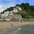 A View of East Looe by RedHillDigital