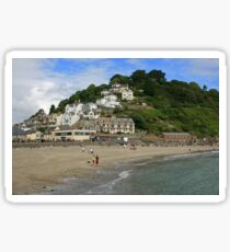 A View of East Looe Sticker