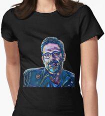 Jeffrey Dean Morgan  Womens Fitted T-Shirt