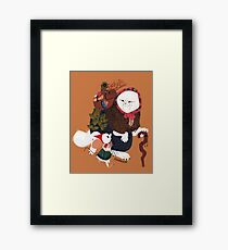 The Witch's Apprentice Framed Print