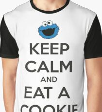 Keep calm and eat a cookie Graphic T-Shirt