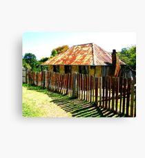 Beyers Cottage - Hill End Canvas Print