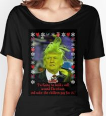Donald Grinch Trump Women's Relaxed Fit T-Shirt