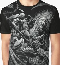 St. George and the Dragon Graphic T-Shirt