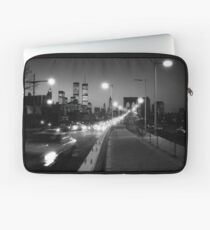 Manhattan from Brooklyn Bridge 1980s Laptop Sleeve