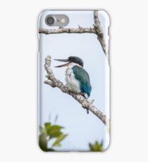 Torresian kingfisher iPhone Case/Skin