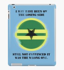 Losing Side - Browncoats iPad Case/Skin