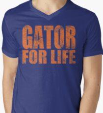 Gator for Life Men's V-Neck T-Shirt