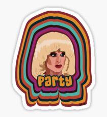 Katya Zamolodchikova - Party Sticker
