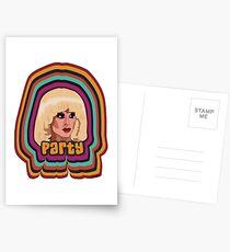 Katya Zamolodchikova - Party Postkarten