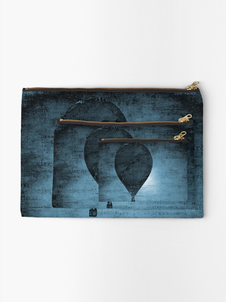 Alternate view of Flying in a Blue Dream Zipper Pouch