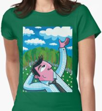 The Cloud Catcher Fitted T-Shirt