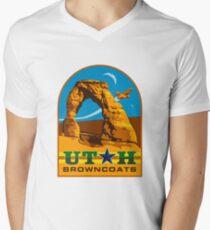 Utah Browncoats - Arches  Men's V-Neck T-Shirt