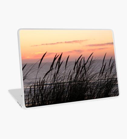 Dune Grass At Sunset Laptop Skin