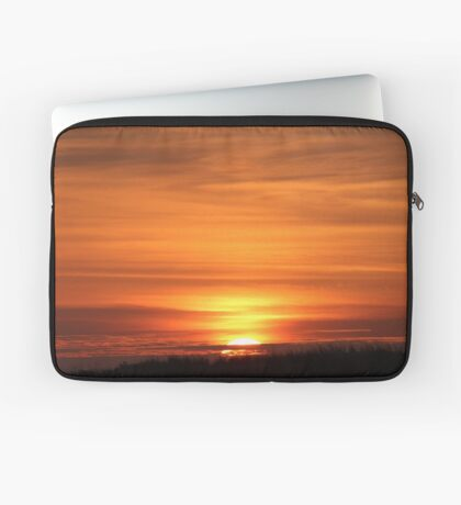 Sunset Over The Dune Laptop Sleeve