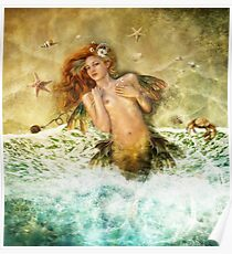 Washed Ashore - Mermaid Poster