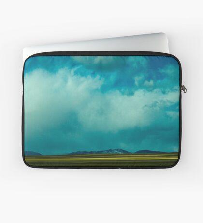Storm Across Moves Across The Plains Laptop Sleeve