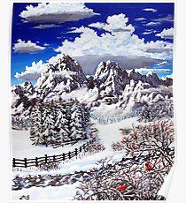 a winterberry wonderland Poster