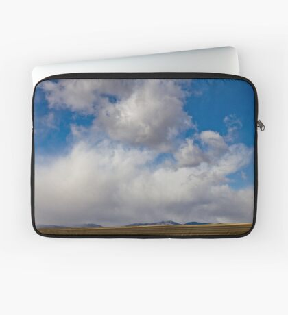 Storm Skies Over The Plains Laptop Sleeve