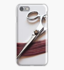 Cutting Hair iPhone Case/Skin