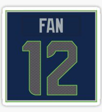 12th Man Jersey Sticker