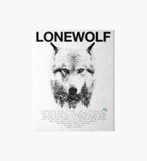 Lone Wolf! Art Board