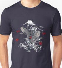 Japanese Koi Graphic Design T-Shirt