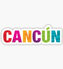 Cancun Sticker