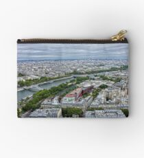 Paris from the tower Studio Pouch