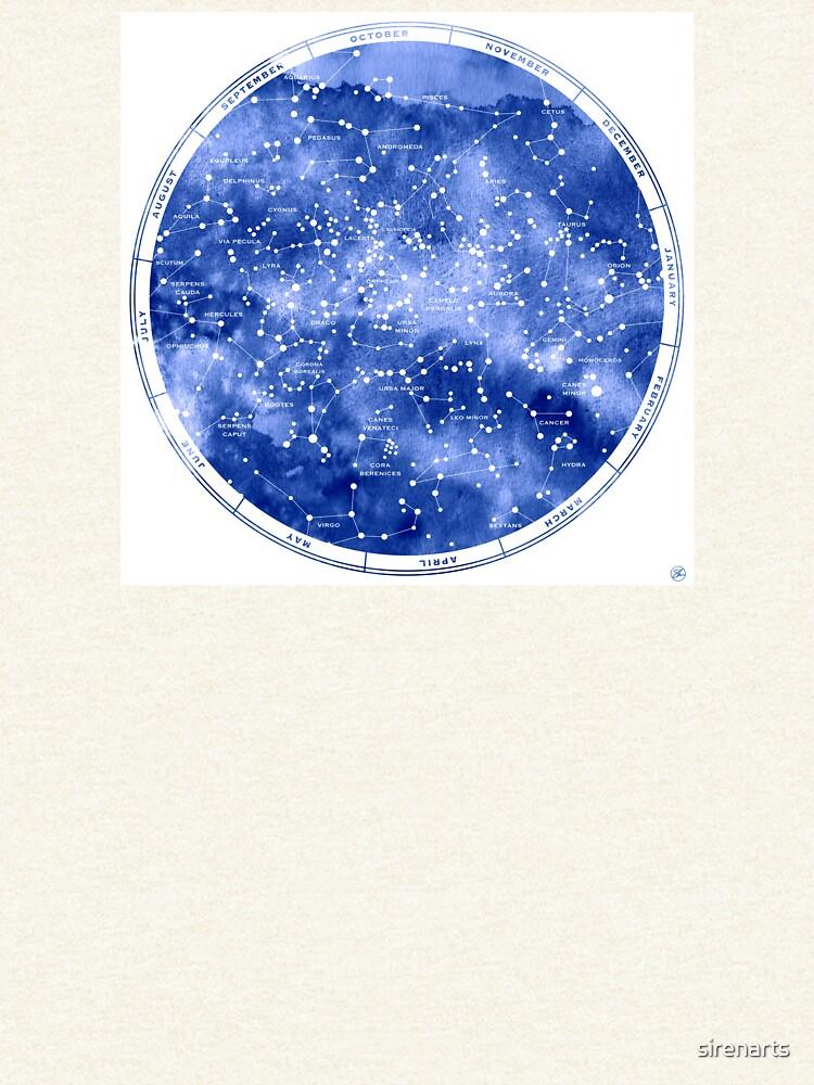 Nördliche Sternkarte von sirenarts