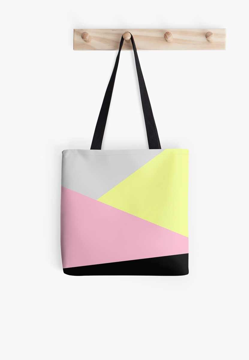 80s Triangles Tote Bag