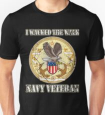 I Walked The Walk Navy Veteran T-Shirt