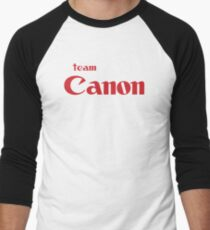 Team Canon Original Men's Baseball ¾ T-Shirt