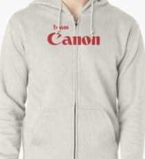 Team Canon Original Zipped Hoodie