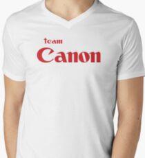 Team Canon Original Men's V-Neck T-Shirt