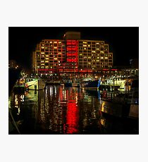 Dark Mofo, Painting the town Red Photographic Print