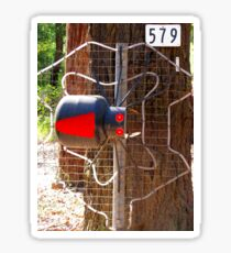 Redback Spider Mailbox Sticker
