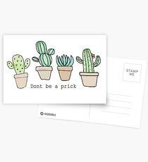 Sei kein Arsch Postkarten