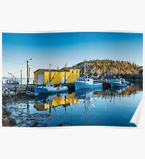 Northwest Cove Nova Scotia Poster