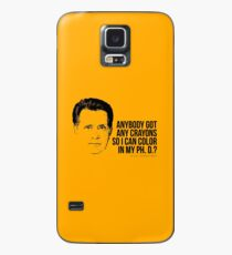Jed Bartlet - Got any Crayons? West Wing Quote Case/Skin for Samsung Galaxy