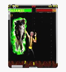 Harambe vs Trump Mortal Kombat iPad Case/Skin