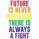 Die Zukunft ist niemals hoffnungslos von kjanedesigns
