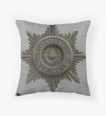 The Cheshire Regiment Throw Pillow
