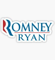 A Mitt Romney Sticker