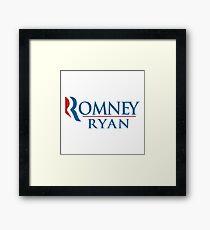A Mitt Romney Framed Print