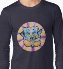 ganesh enjoys shakes Long Sleeve T-Shirt