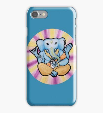 ganesh enjoys shakes iPhone Case/Skin