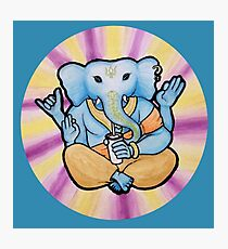 ganesh enjoys shakes Photographic Print